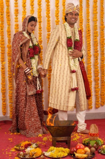Indian marriage ceremony : Stock Photo