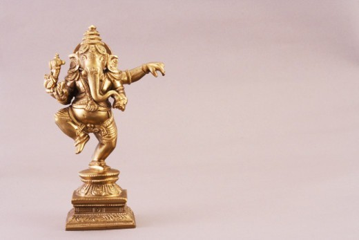 Statue of Lord Ganesh : Stock Photo
