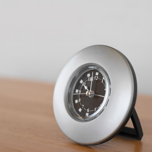 close up view of a clock : Stock Photo
