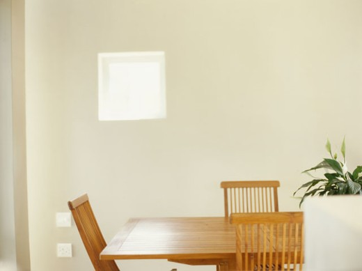 chair and table in a room : Stock Photo