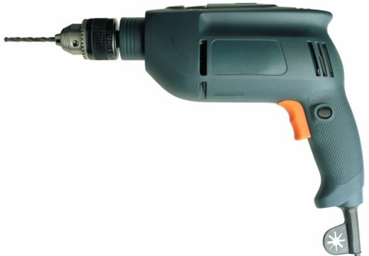 Stock Photo: 1491R-30062 an electric power drill