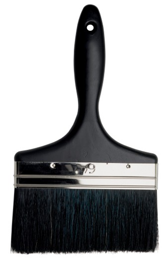 close-up of a paint brush : Stock Photo