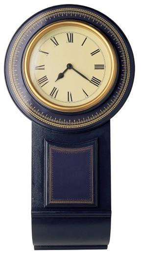 old fashioned wall clock : Stock Photo