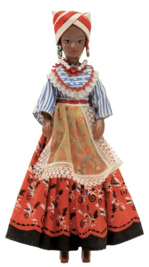 female African doll : Stock Photo