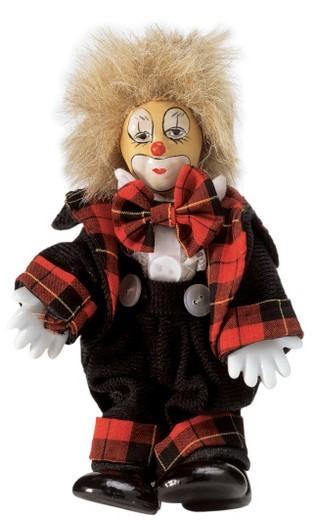 a clown doll : Stock Photo