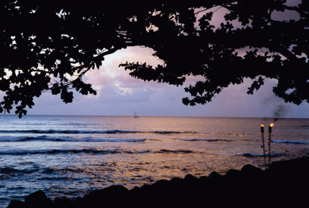 Stock Photo: 1505-178 North Shore Kauai Hawaii USA