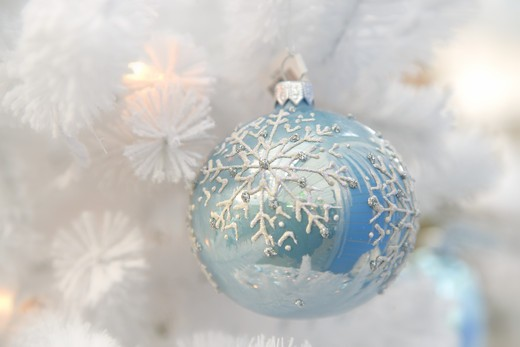 Stock Photo: 1505-417 Close-up of Christmas ornament