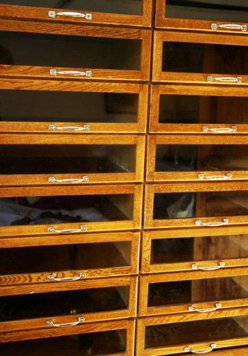 Stock Photo: 1517-327 Close-up of drawers