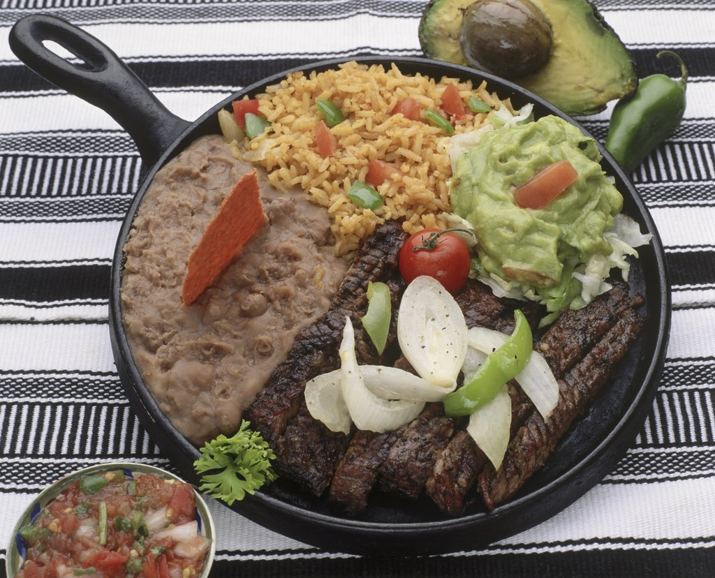 Stock Photo: 152-948 Fajitas