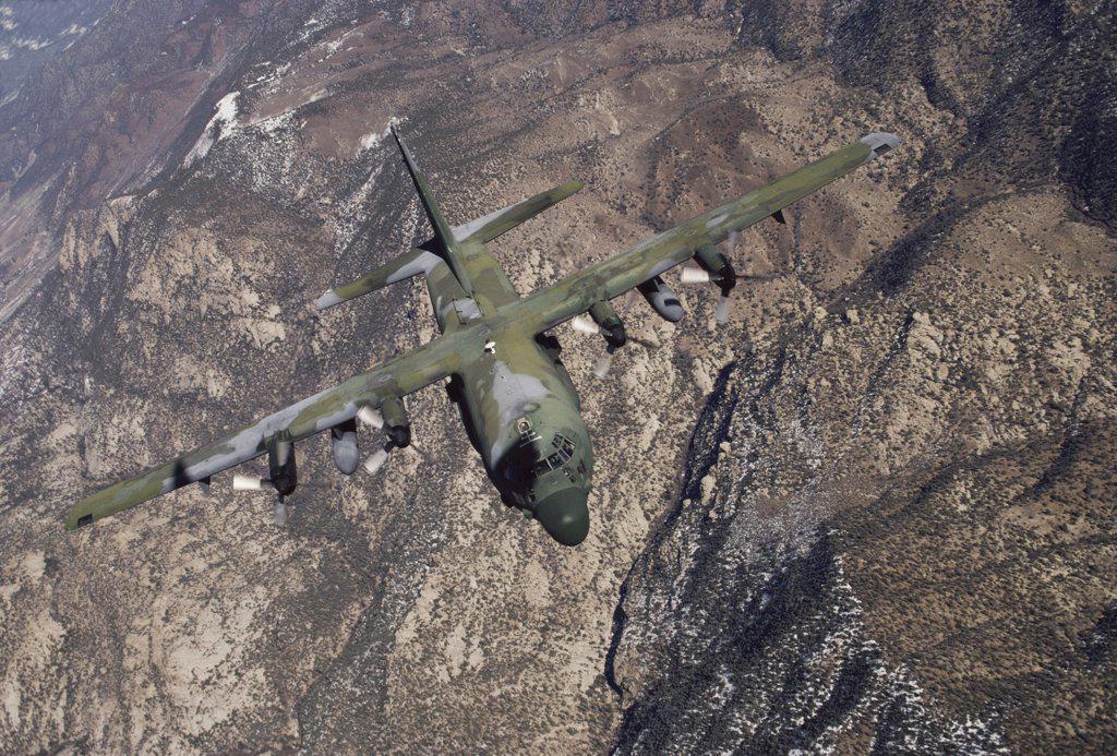 C-130 Cargo Aircraft : Stock Photo