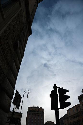 Street scene in Rome, Italy. : Stock Photo