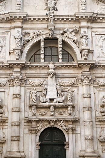 Facade of San Moise Church in Venice, Italy. : Stock Photo