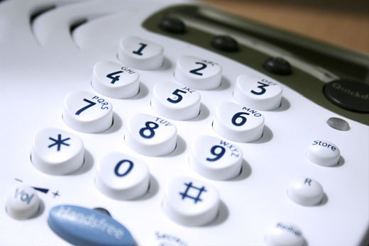 Stock Photo: 1525R-112341 close up of a keypad