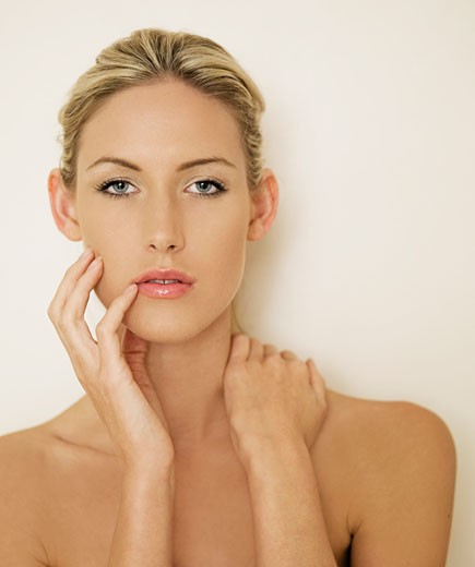 Stock Photo: 1525R-116735 head and shoulders of attractive woman