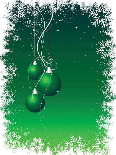 Stock Photo: 1525R-118705 christmas background