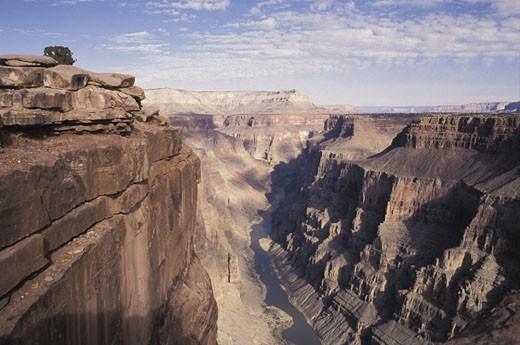 Stock Photo: 1525R-11890 Deep canyon