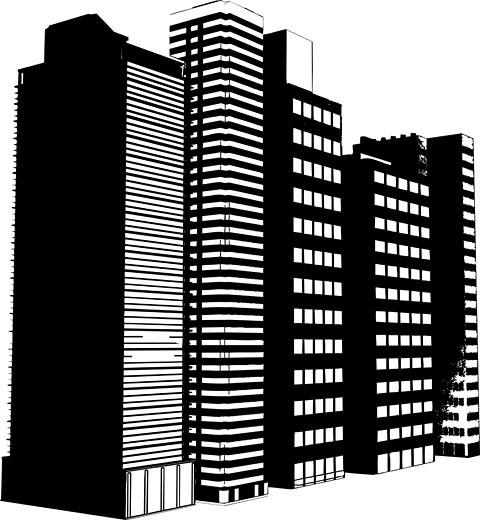 Stock Photo: 1525R-119035 grunge buildings