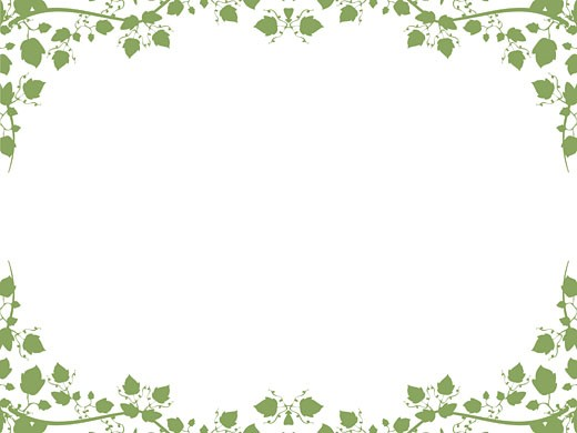 Foliage border : Stock Photo