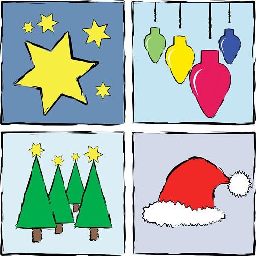 Stock Photo: 1525R-119547 Christmas