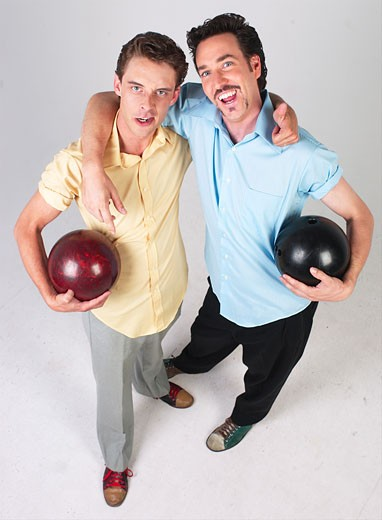 Bowling buddies L1 : Stock Photo