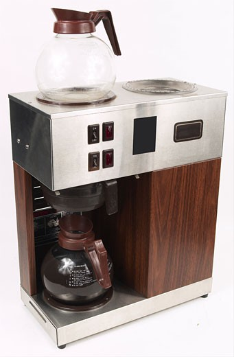 Stock Photo: 1525R-12684 coffee percolator