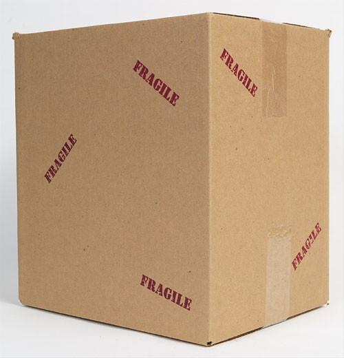 Cardboard Box BE 13 : Stock Photo