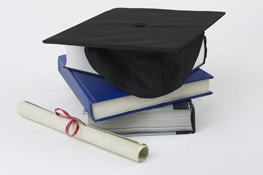 Stock Photo: 1525R-13406 Mortar Board