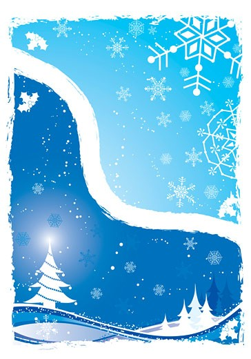Stock Photo: 1525R-141667 Christmas background, vector