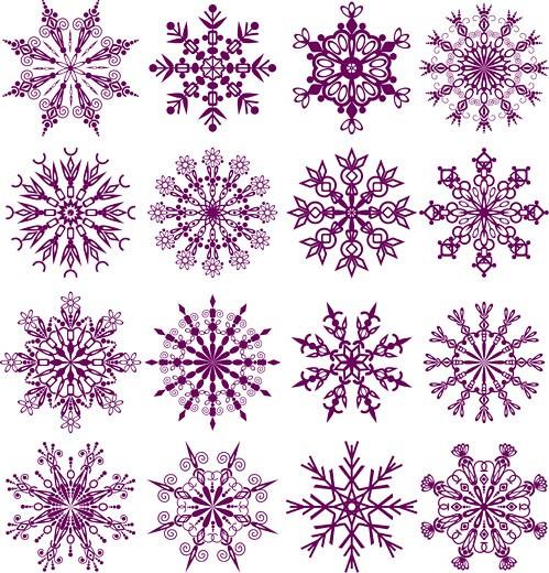 Stock Photo: 1525R-141828 Snowflakes
