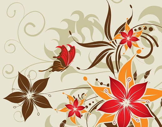 Flower background : Stock Photo