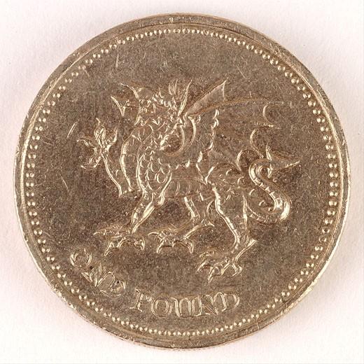 British coin  : Stock Photo