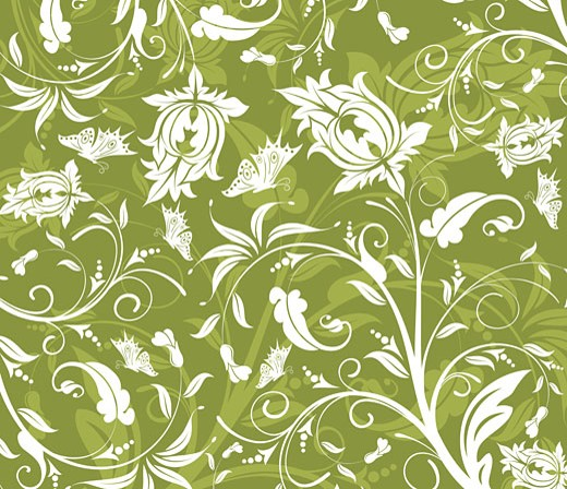 Abstract flower pattern : Stock Photo
