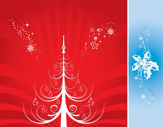 Stock Photo: 1525R-143217 Christmas background