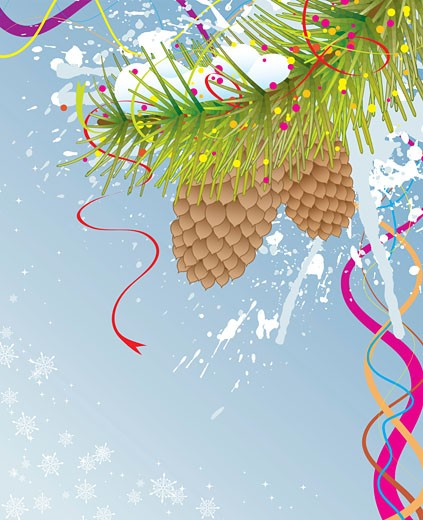 Abstract christmas background : Stock Photo