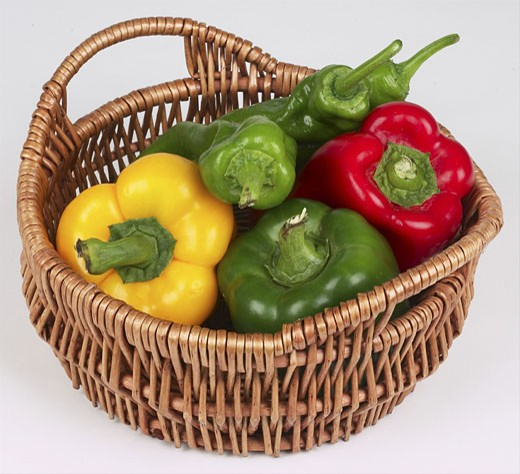 Stock Photo: 1525R-14815 vegetable basket