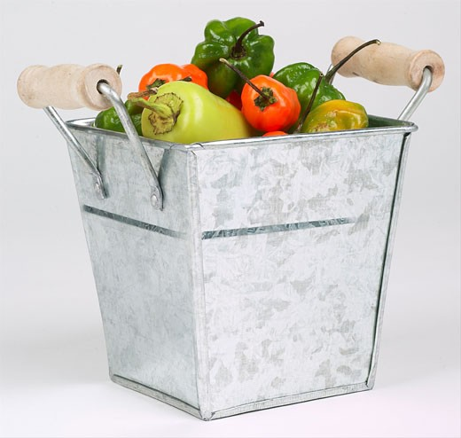 Stock Photo: 1525R-14818 vegetable basket