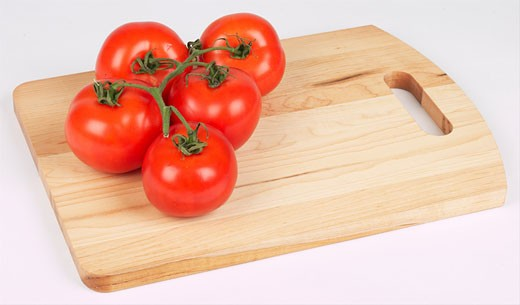 Stock Photo: 1525R-14820 red tomatoes