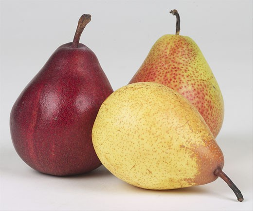 Stock Photo: 1525R-14971 assorted pears