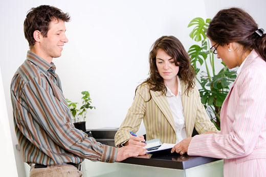 Stock Photo: 1525R-152929  Business people working in team