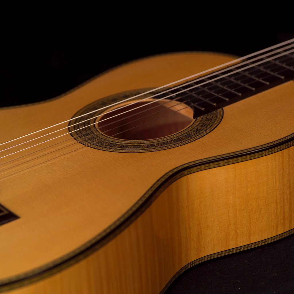 Stock Photo: 1525R-189778 Classical Guitar