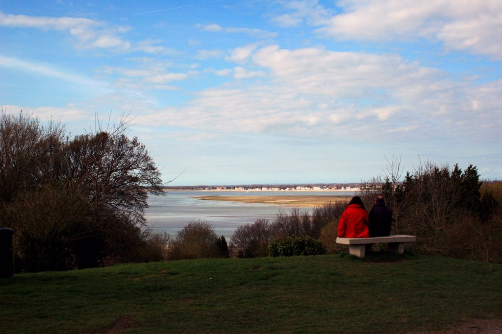 Picardie, St Valery sur Somme, France : Stock Photo