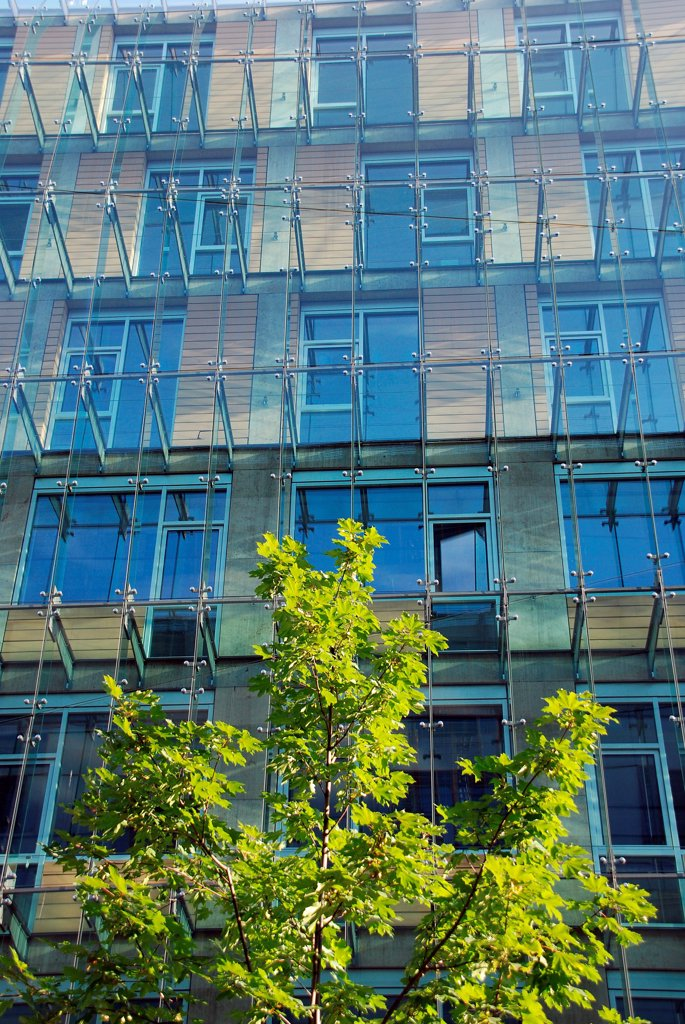 Stock Photo: 1525R-192055 Modern glass office building