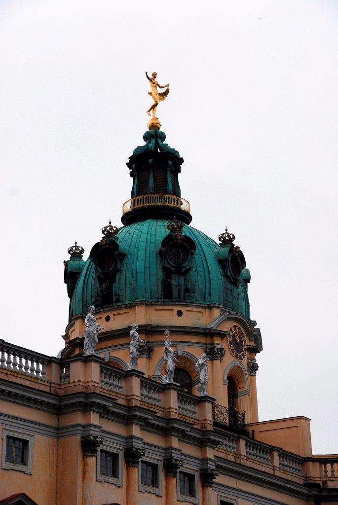Charlottenburg Palace, Berlin : Stock Photo