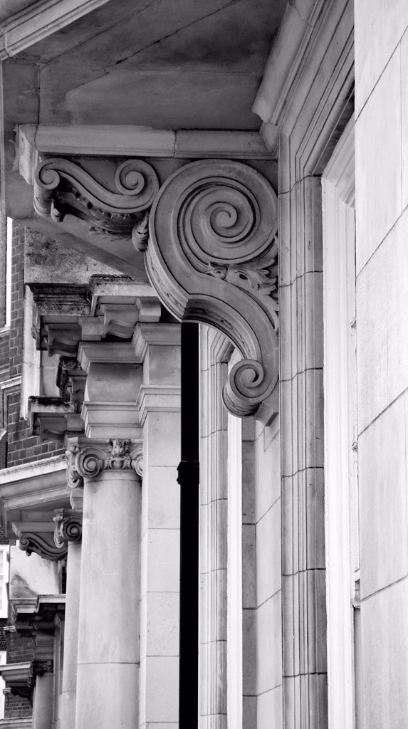 Supporting architectural detail. : Stock Photo