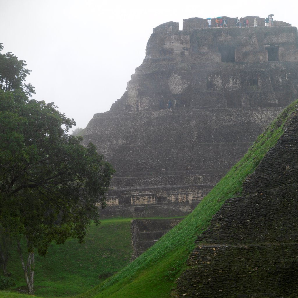Xunantunich, Ancient Temple : Stock Photo