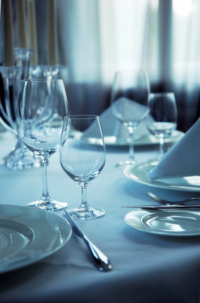 Stock Photo: 1525R-203597 Elegant table setting for afternoon coffee or tea