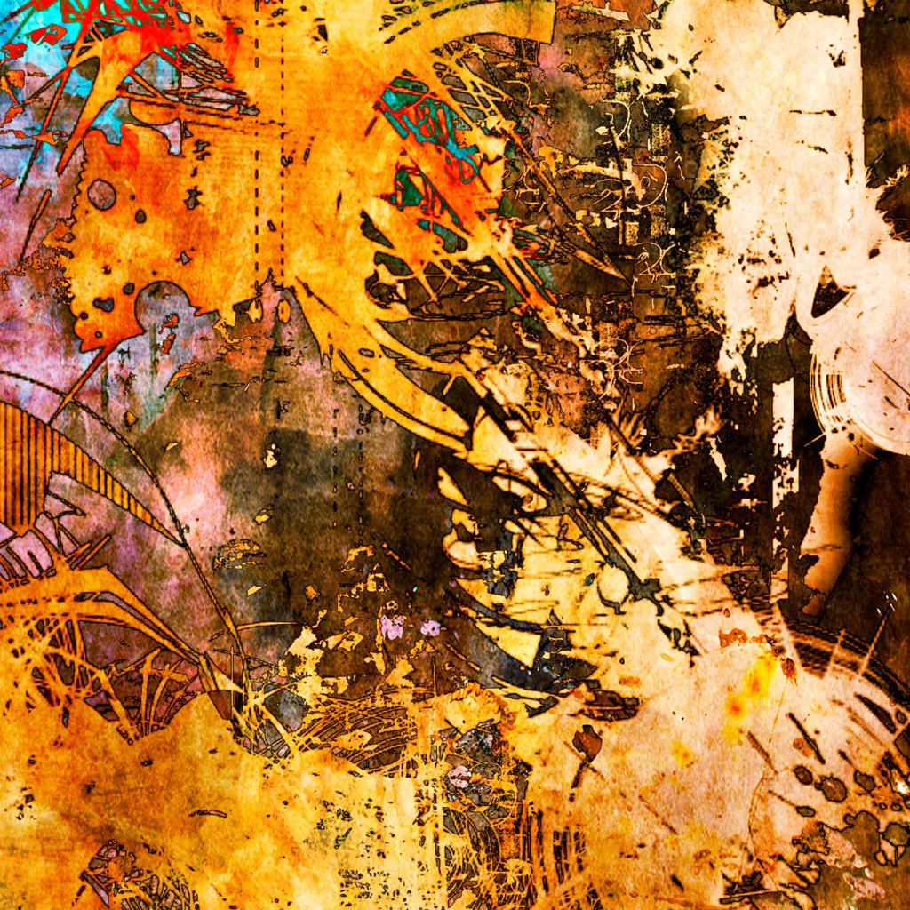 Stock Photo: 1525R-211484 art abstract grunge graphic background