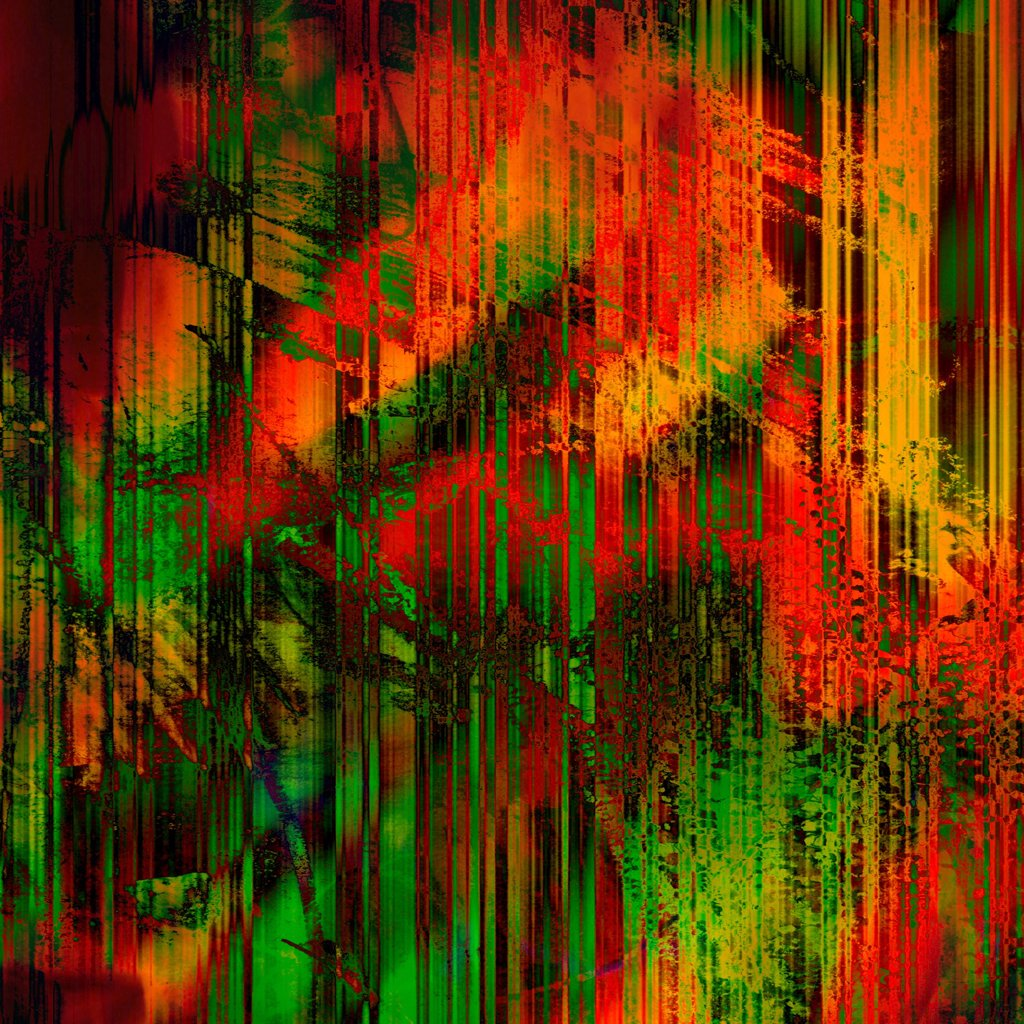 Stock Photo: 1525R-211785 art abstract rainbow lines background