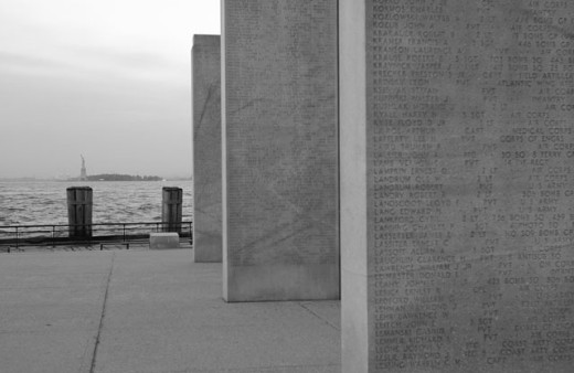 Vietnam Memorial, Battery Park : Stock Photo