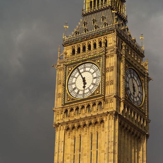 Stock Photo: 1525R-35428 London - Big Ben
